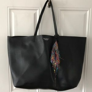 Victoria's Secret faux leather oversized tote